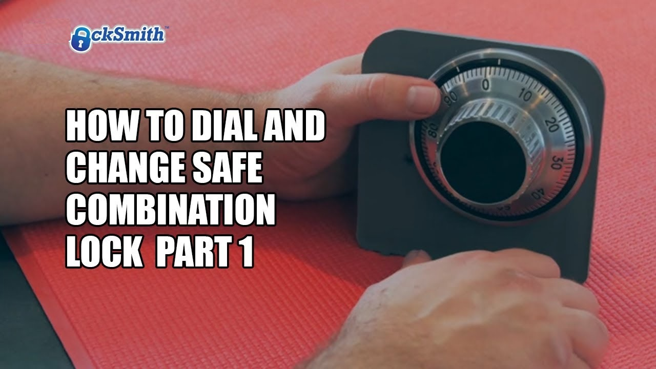 Change combination safe vault